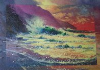 Perfect Surf 1998 30x36 Original Painting by James Coleman - 1