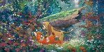 Fox and the Hound AP Limited Edition Print - James Coleman