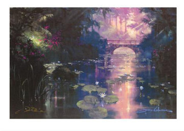 Bridge Over Silent Water 2009 Limited Edition Print by James Coleman