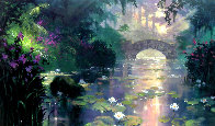 Bridge Over Silent Water 2009 Limited Edition Print by James Coleman - 0