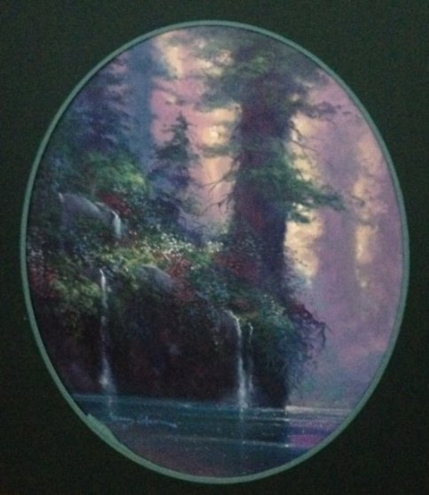 Forest Song 1995 30x28 Original Painting by James Coleman