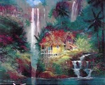 Living Aloha PP 1992 Embellished Limited Edition Print - James Coleman