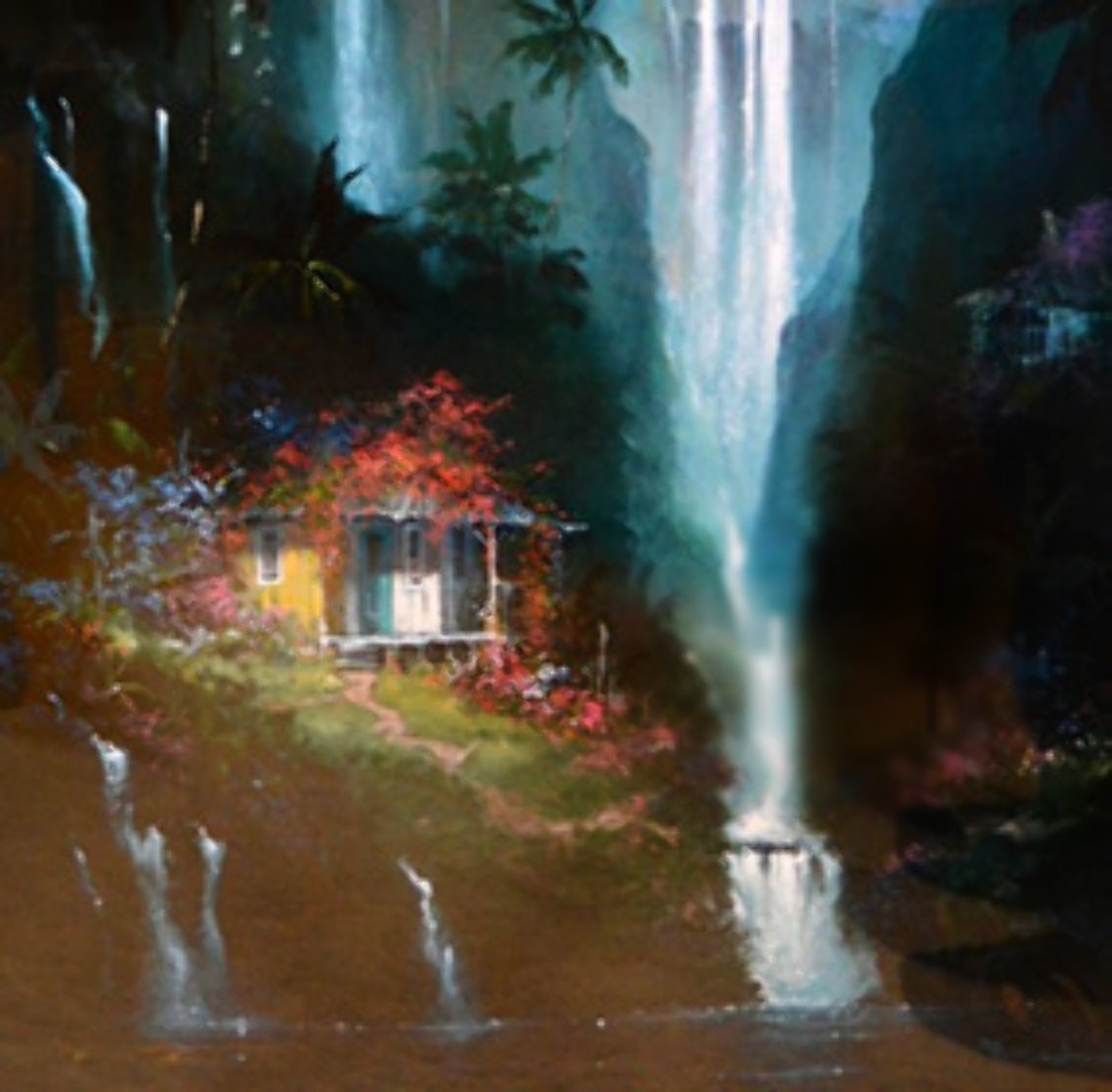 Surrender to Paradise PP 1993 Embellished Limited Edition Print by James Coleman