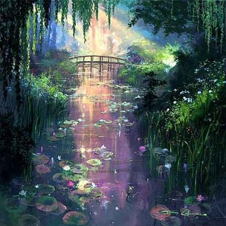 Pond of Enchantment AP  2000 Limited Edition Print by James Coleman