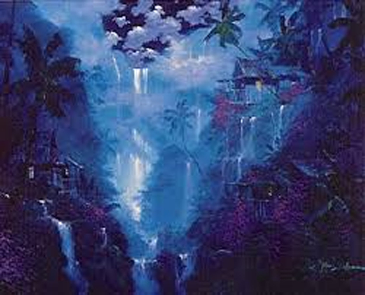 Majestic Falls 1994 Super Huge Limited Edition Print by James Coleman