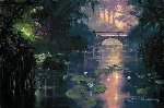 Bridge Over Silent Waters AP 2009 Limited Edition Print - James Coleman