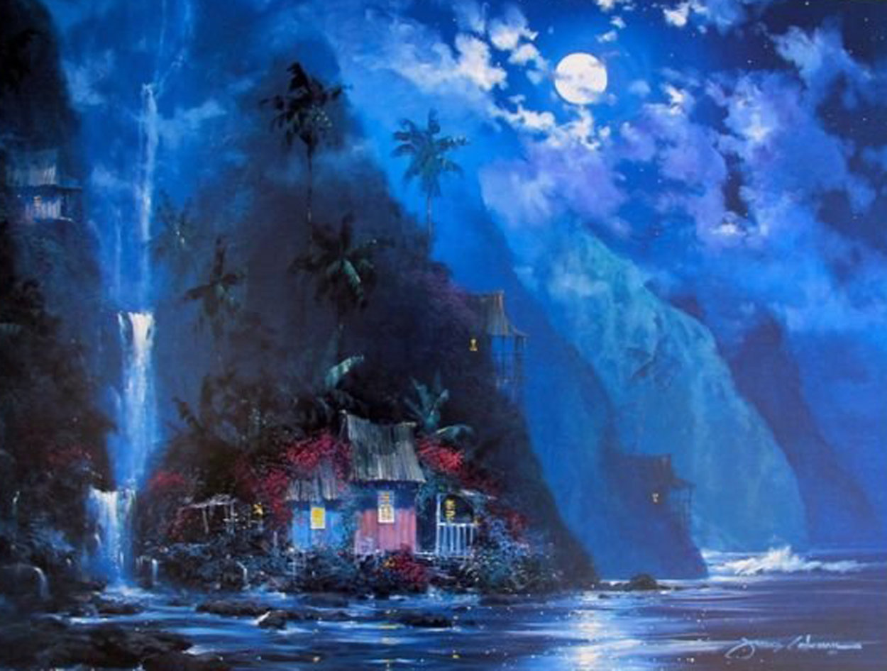Night Paradise 1997 Limited Edition Print by James Coleman