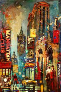 Nice N' Easy 2008 60x40 Super Huge  Original Painting - Victor Colesnicenco