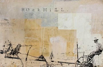 Rock Hill 1997 24x36 Original Painting by Ashley Collins