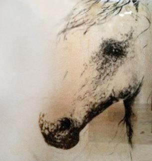 Wake 2003 48x48 Huge Original Painting - Ashley Collins