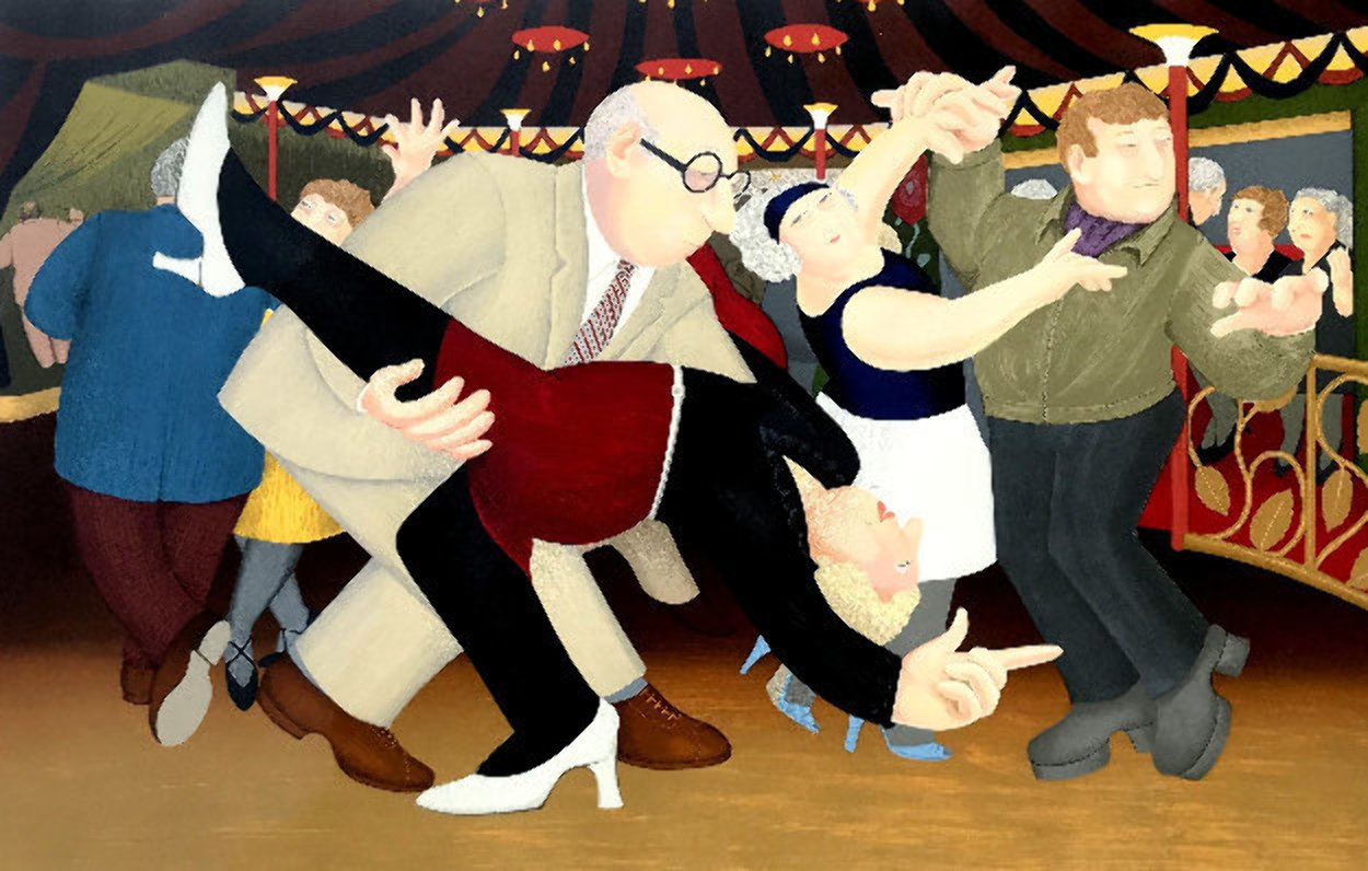 Tango 1985 Limited Edition Print by Beryl Cook