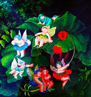 Fairy Dell Limited Edition Print by Beryl Cook