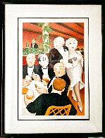 Baron Entertains AP Limited Edition Print by Beryl Cook - 1