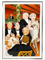 Baron Entertains AP Limited Edition Print by Beryl Cook - 2