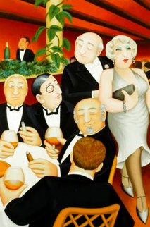 Baron Entertains AP Limited Edition Print - Beryl Cook