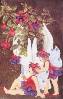 Fuchsia Fairies Limited Edition Print by Beryl Cook