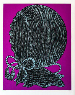 Baby Bonnet Limited Edition Print - Bill Copley
