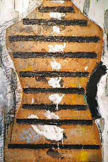 Manaqui #3 2003 60x40 Original Painting - Vladimir Cora