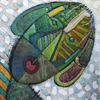 Retrato 1996 32x32 Original Painting by Vladimir Cora