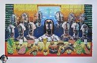 La Ultima Asemblea (The Last Supper) 2003 40x60 Limited Edition Print by Vladimir Cora - 1