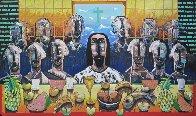 La Ultima Asemblea (The Last Supper) 2003 40x60 Limited Edition Print by Vladimir Cora - 0