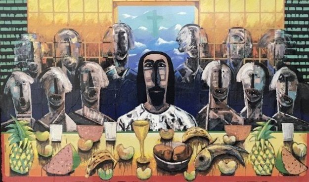 La Ultima Asemblea (The Last Supper) PP 2003 Limited Edition Print by Vladimir Cora