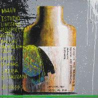 Autorretrato, Set of 3 Paintings 2010 Original Painting by Vladimir Cora - 0