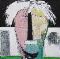 Autorretrato, Set of 3 Paintings 2010 Original Painting by Vladimir Cora - 1