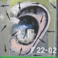 Autorretrato, Set of 3 Paintings 2010 Original Painting by Vladimir Cora - 2