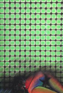 Nude Pastel 1996 35x24 Original Painting by Vladimir Cora