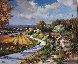 Vallee De Marmole 2000 30x35 Original Painting by  Cora - 0