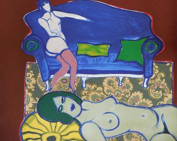 La Divan Bleu 1979 Limited Edition Print by Guillaume Corneille