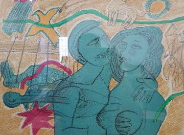 Suite Amour 1989 Limited Edition Print - Guillaume Corneille