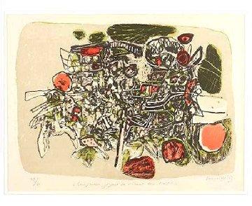 Composition Joyeuse Des Oiseaux Dans l'arbre Limited Edition Print - Guillaume Corneille