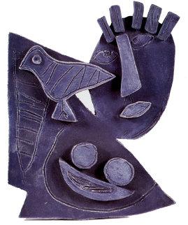 Personnage Ceramic Sculpture Sculpture - Guillaume Corneille