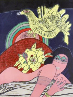 Exotisme (Exotic) 1972 Limited Edition Print by Guillaume Corneille