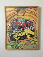 Nude And Bird 1971 Limited Edition Print by Guillaume Corneille - 1