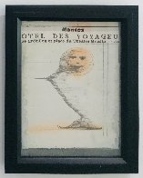 Smile in the Gift Shop 1960 16x13 Works on Paper (not prints) by Joseph Cornell - 1