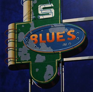 Blues 2009 Limited Edition Print - Robert Cottingham