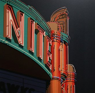 Nite 2009 Limited Edition Print - Robert Cottingham