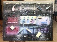 Nuit D'été 40x45 Super Huge Original Painting by Will Cotton - 1