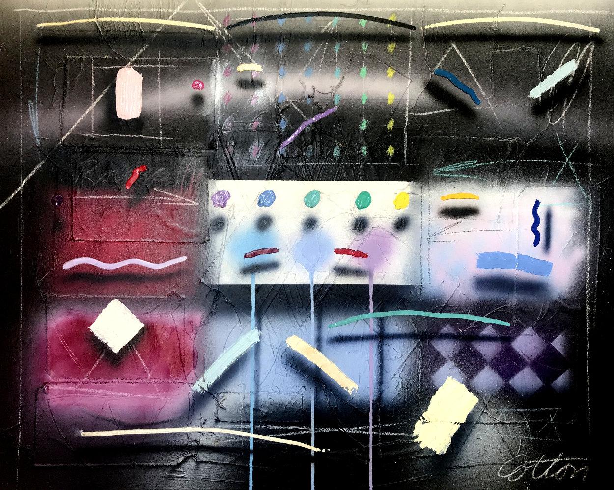 Nuit D'été 40x45 Super Huge Original Painting by Will Cotton