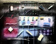 Nuit D'été 40x45 Super Huge Original Painting by Will Cotton - 0