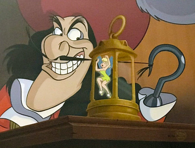 Dastardly Deed 2007 Limited Edition Print by  Courvoisier Disney Cels