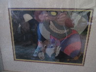 Great Mouse Detective - Ratigan & Olivia 1986 Limited Edition Print by  Courvoisier Disney Cels - 1