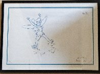 Return to Never Land Tinker Bell Animation Drawing (Disney) 2002 19x14 Drawing by  Courvoisier Disney Cels - 1