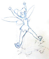 Return to Never Land Tinker Bell Animation Drawing (Disney) 2002 19x14 Drawing by  Courvoisier Disney Cels - 0