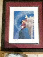 Mickey Master of the Elements 1997 Limited Edition Print by  Courvoisier Disney Cels - 3