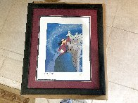 Mickey Master of the Elements 1997 Limited Edition Print by  Courvoisier Disney Cels - 2