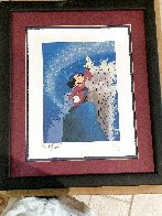 Mickey Master of the Elements 1997 Limited Edition Print by  Courvoisier Disney Cels - 1